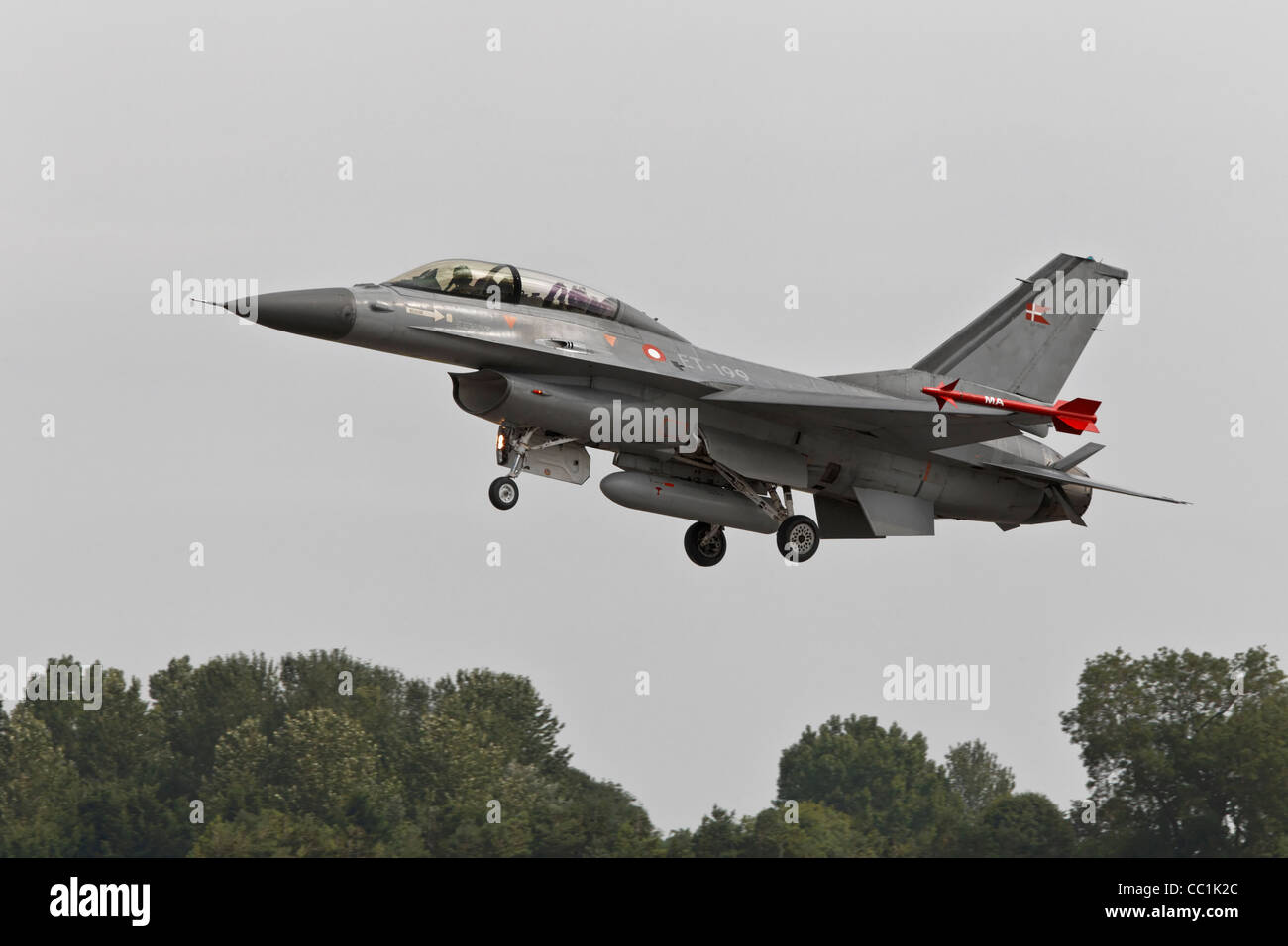 General Dynamics F16 Fighting Falcon - Stock Image