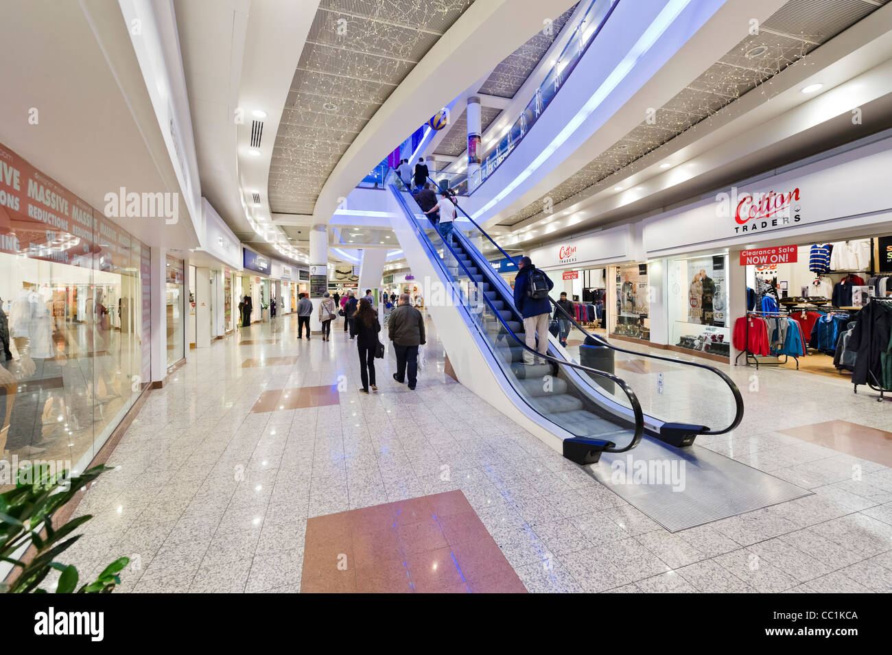 The Lowry Outlet Mall shopping centre, Salford Quays, Manchester, UK - Stock Image