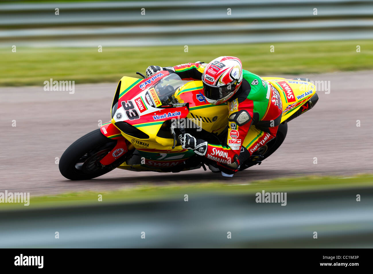 46226530 British superbike rider Tommy Hill riding a Yamaha YZF- R1 for the Swan  Yamaha superbike