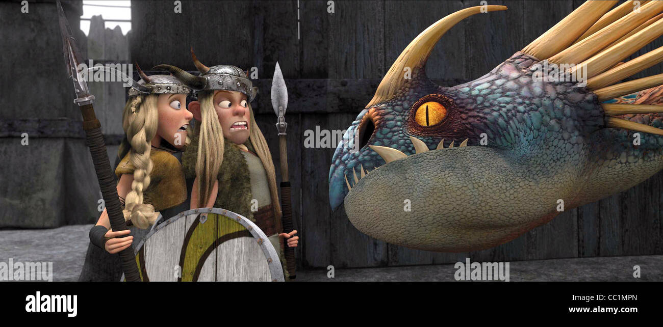 Ruffnut tuffnut dragon how to train your dragon 2010 stock photo ruffnut tuffnut dragon how to train your dragon 2010 ccuart Images