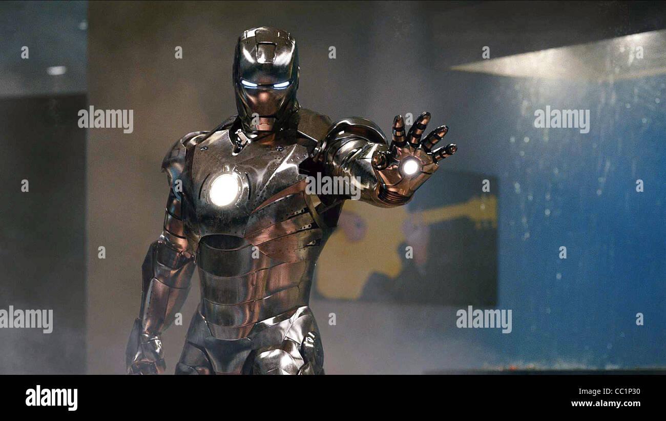 Mark Ii Armor Suit Iron Man 2 2010 Stock Photo Alamy
