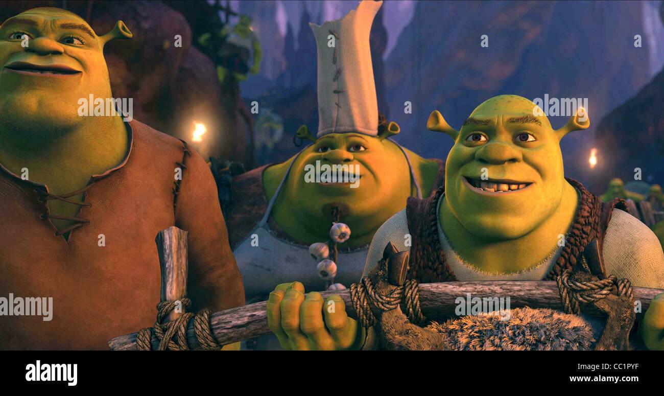 Brogan Cookie Shrek Shrek Forever After 2010 Stock Photo Alamy