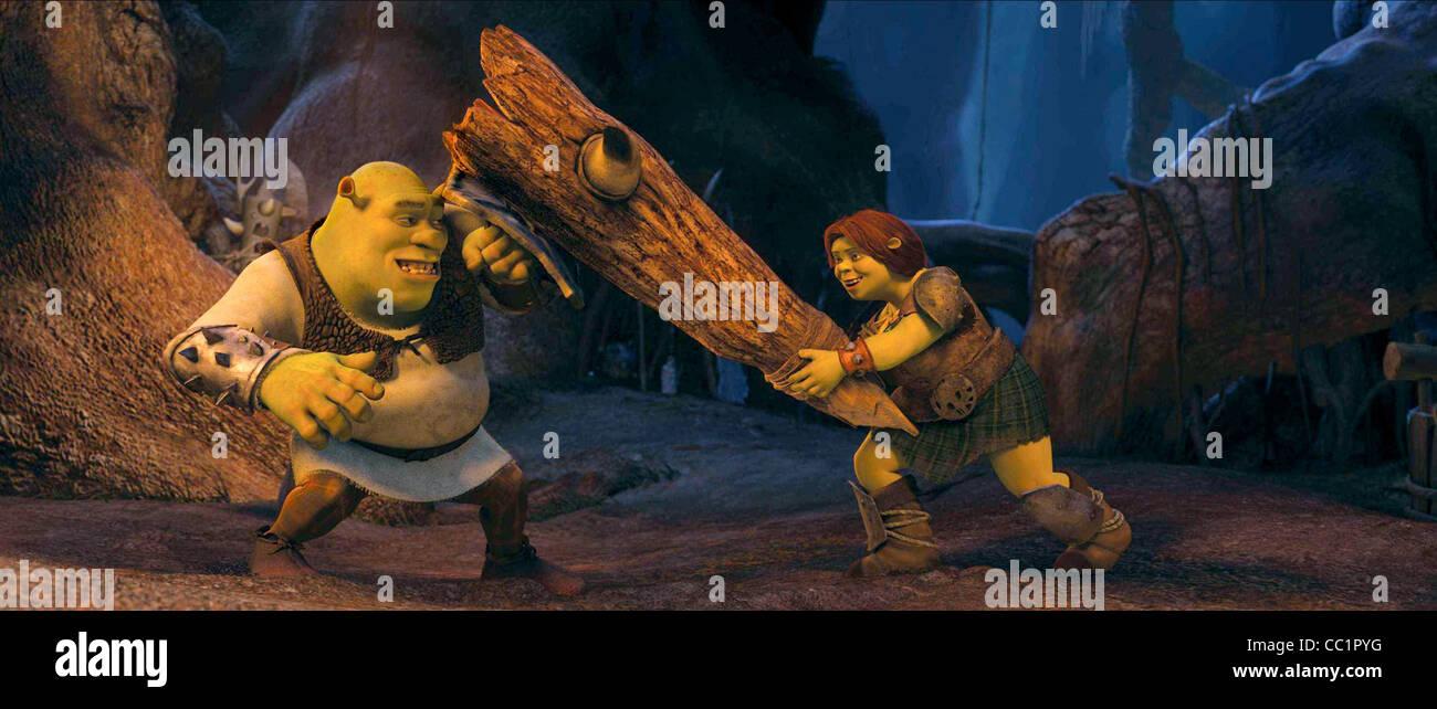 Shrek Princess Fiona Shrek Forever After 2010 Stock Photo Alamy