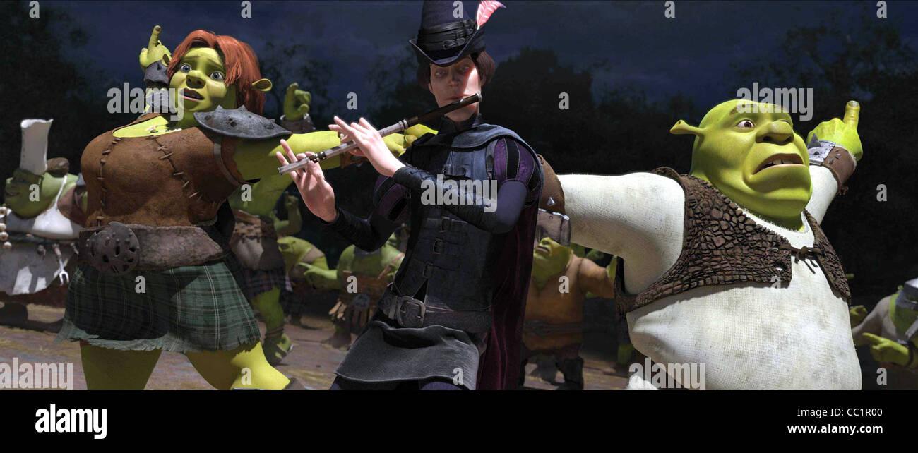 Princess Fiona Pied Piper Shrek Shrek Forever After 2010 Stock Photo Alamy