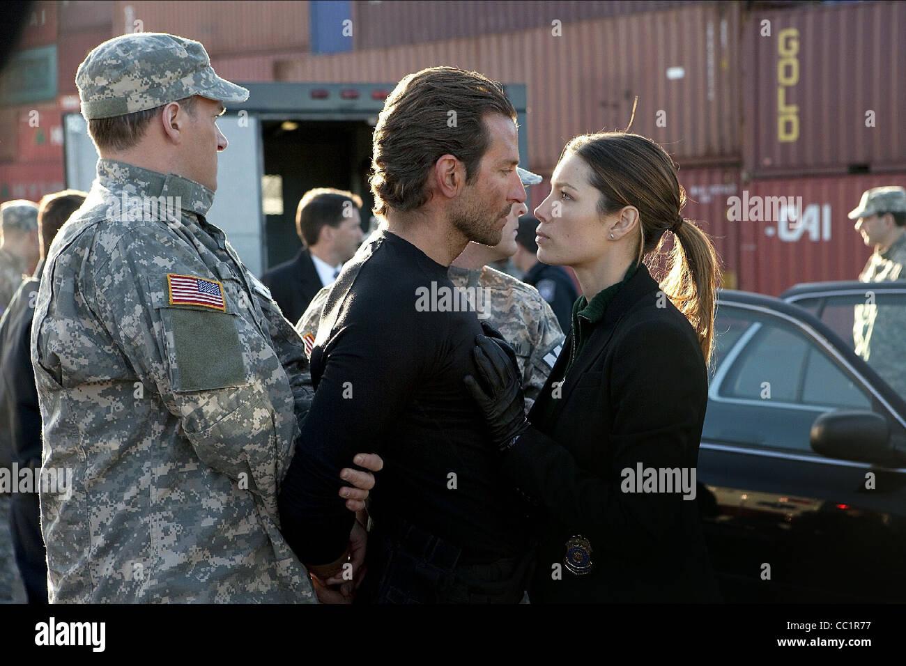 Bradley Cooper Jessica Biel The A Team 2010 Stock Photo Alamy