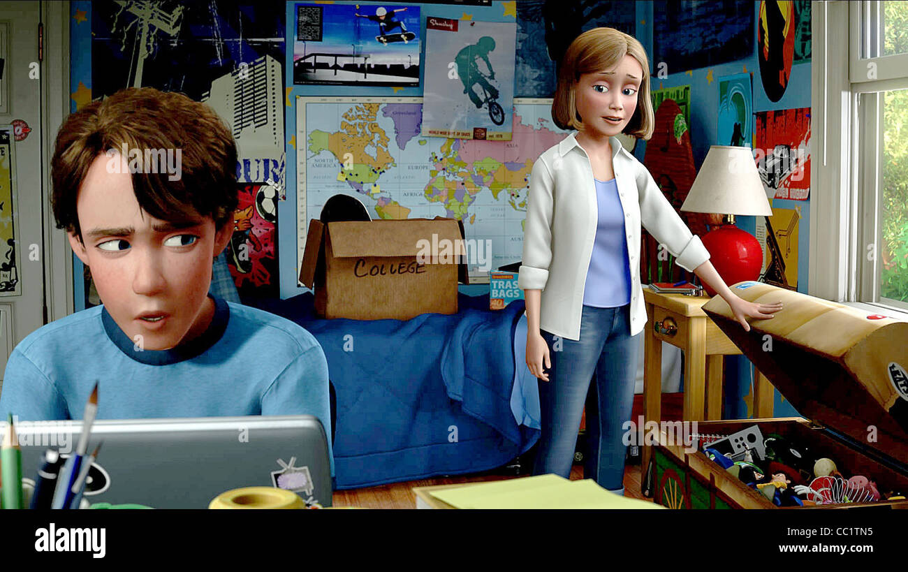 Andy Andy S Mom Toy Story 3 2010 Stock Photo 41837969 Alamy
