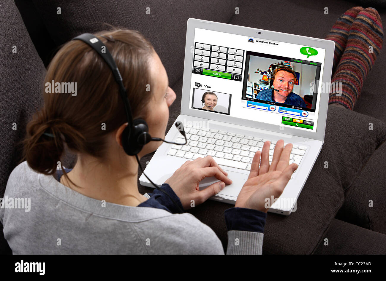 Webcam online video chat