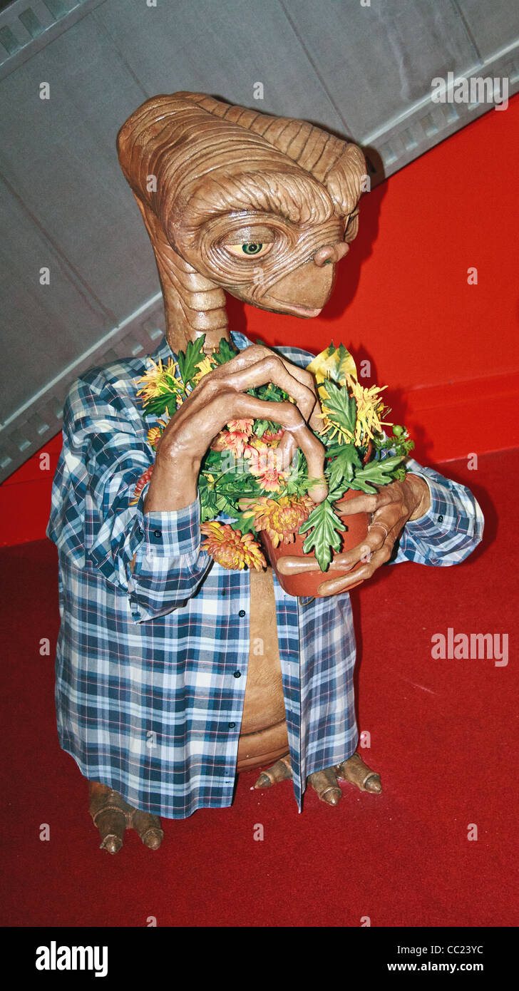 wax works of et - Stock Image