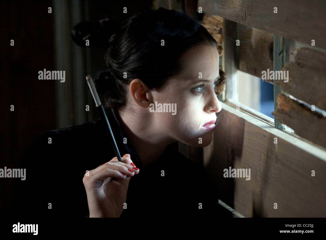 CLAIRE FOY GOING POSTAL (2010) - Stock Image