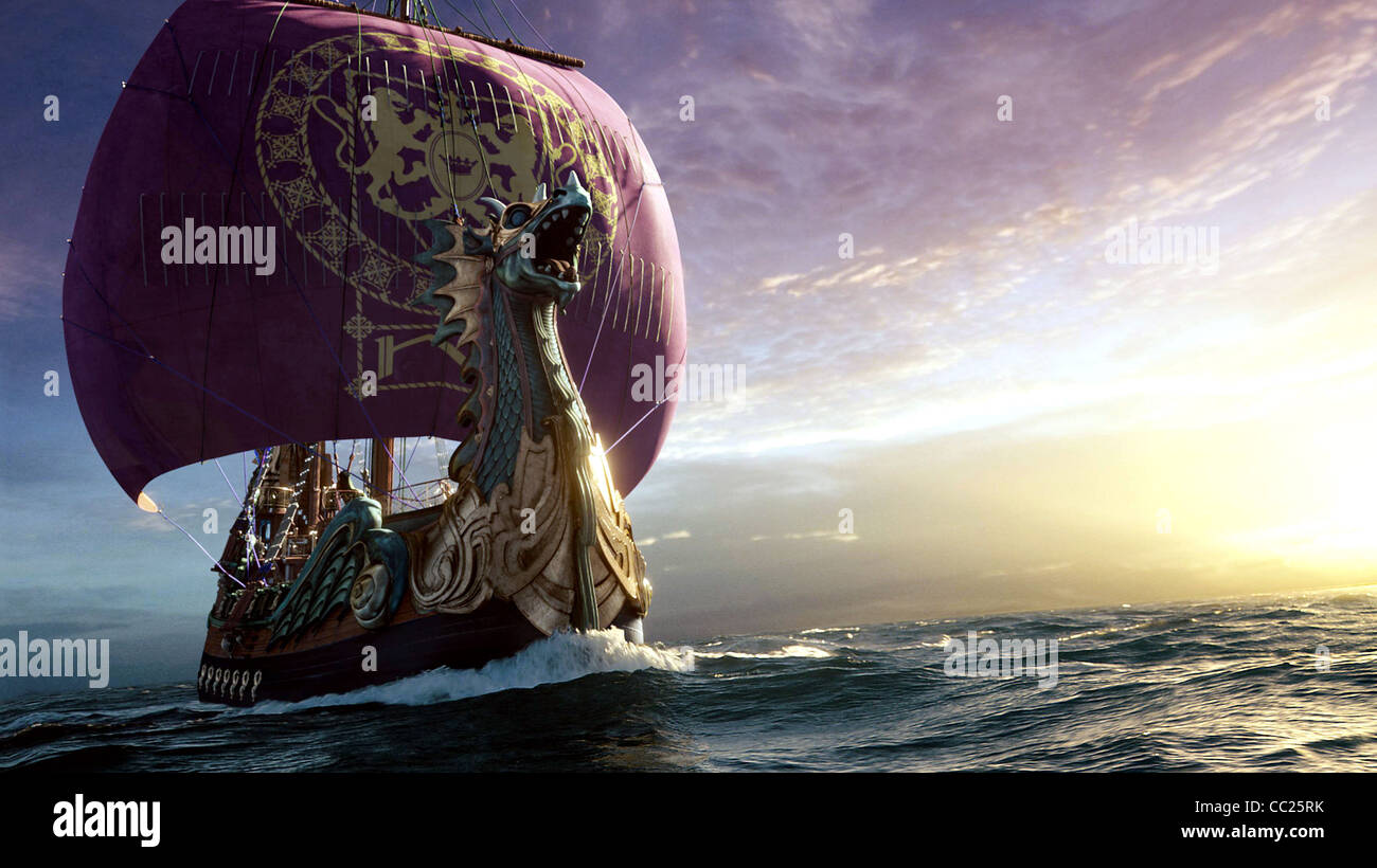 the dawn treader ship the chronicles of narnia the voyage of the
