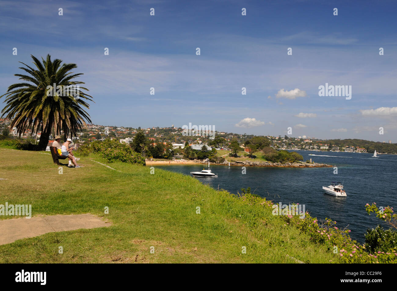 Camp Cove at Watsons Bay near Sydney in New South Wales, Australia. - Stock Image
