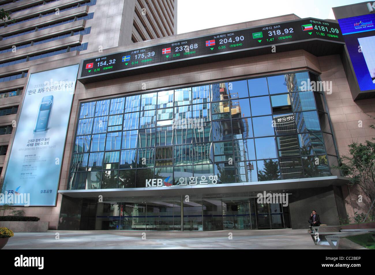 Korea stock exchange options