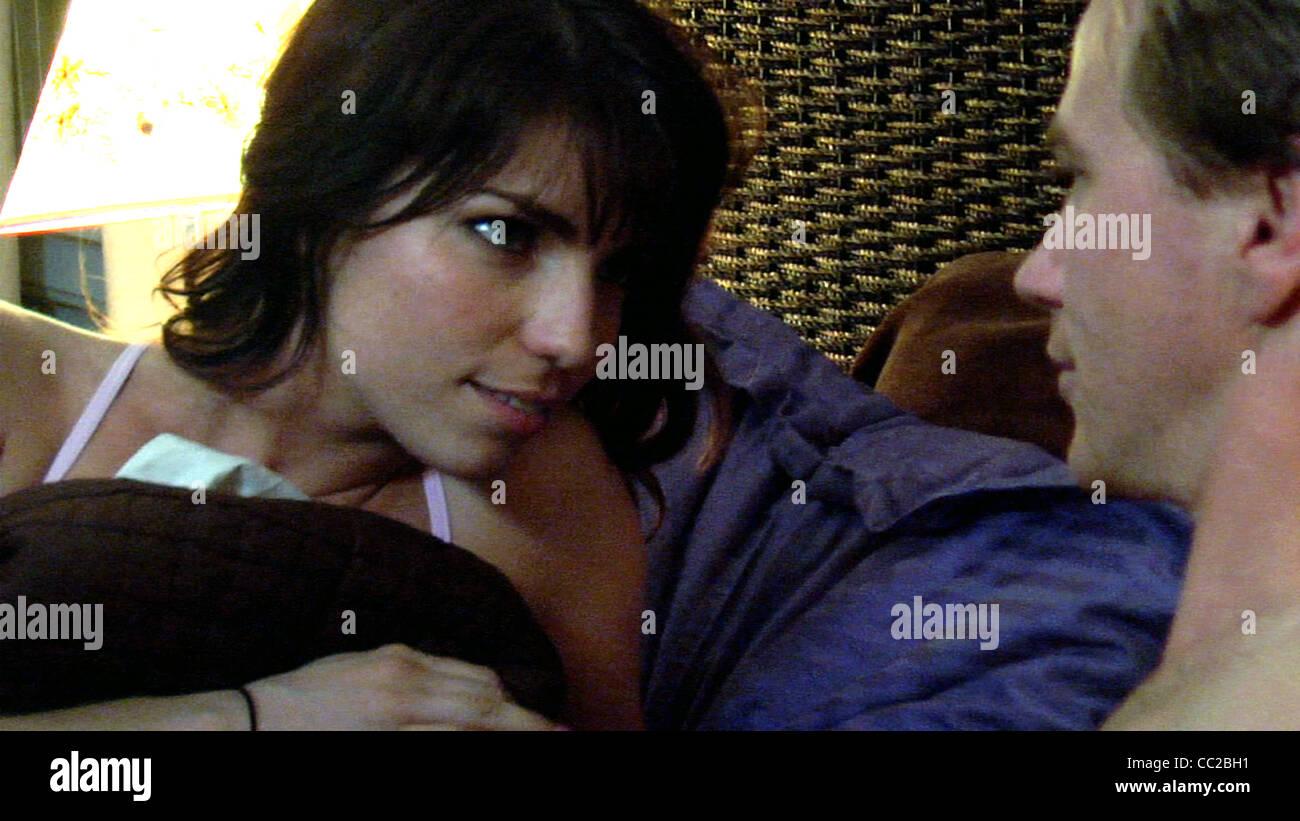 ANGELA TRIMBUR & CY CARTER EXCUSE ME (2010) - Stock Image