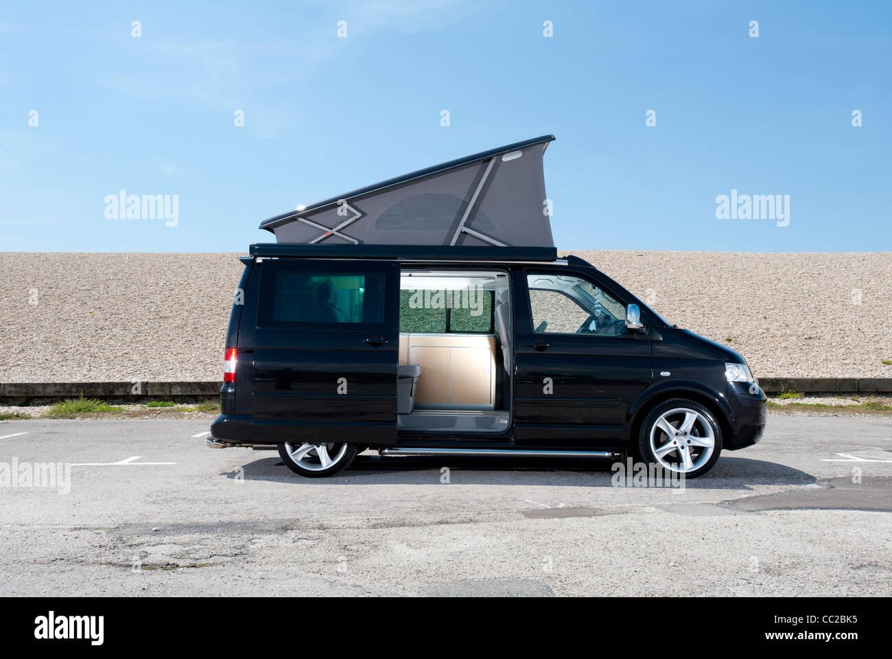 vw t5 camper van stock photos vw t5 camper van stock. Black Bedroom Furniture Sets. Home Design Ideas