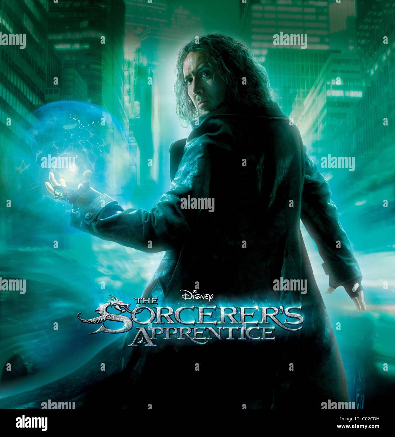 Nicolas Cage Poster The Sorcerer S Apprentice 2010 Stock Photo Alamy