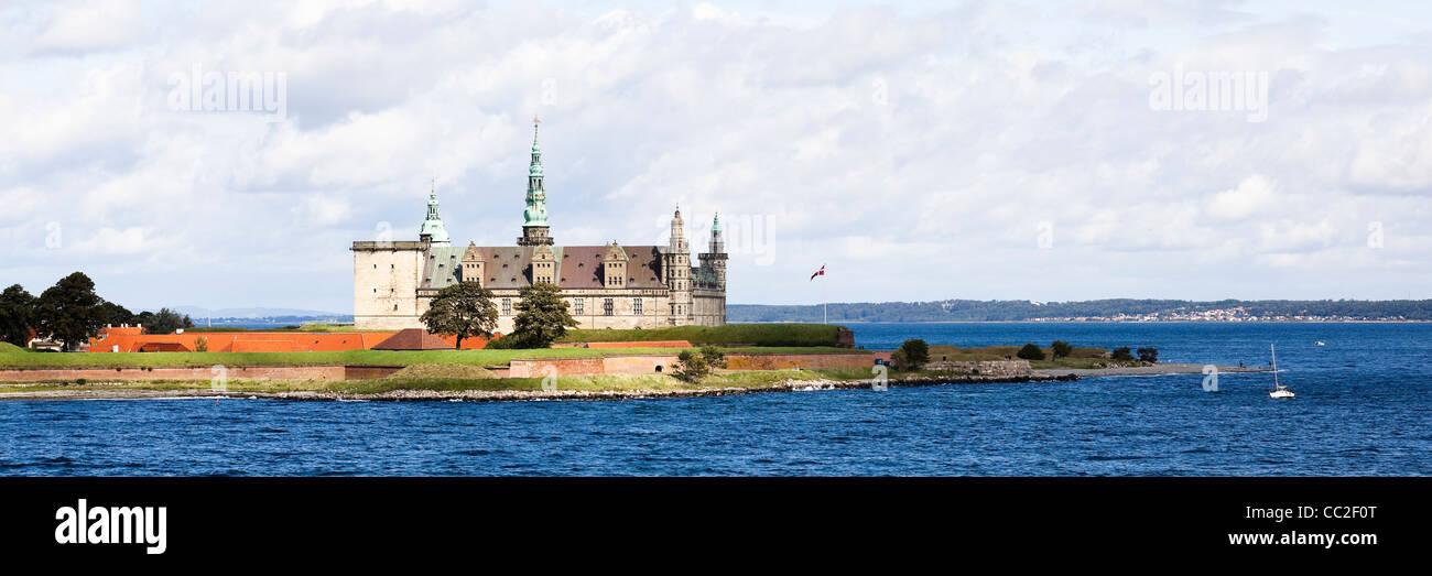 helsingor, denmark: kronborg castle - Stock Image