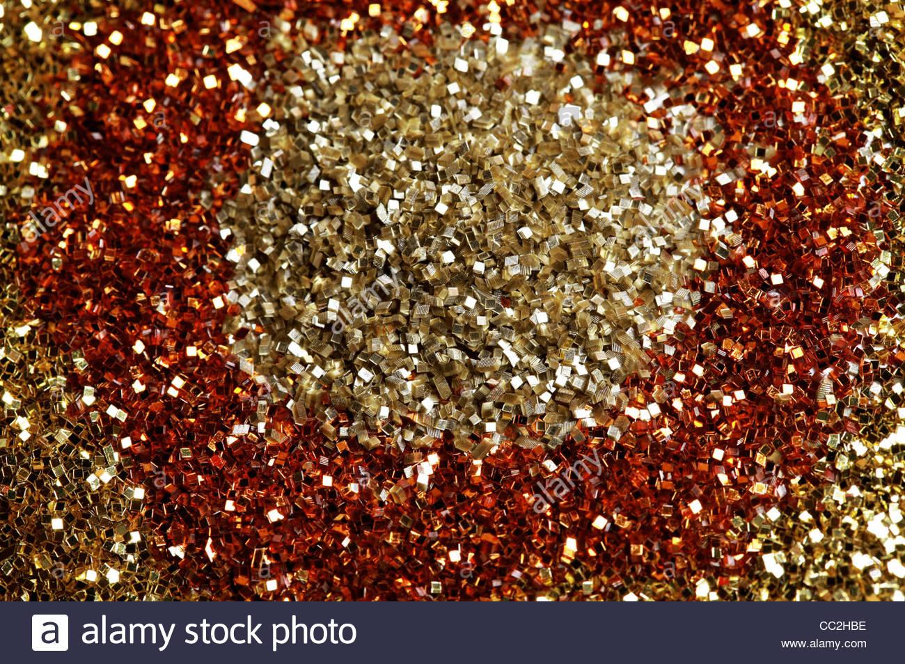 Glitter - Stock Image