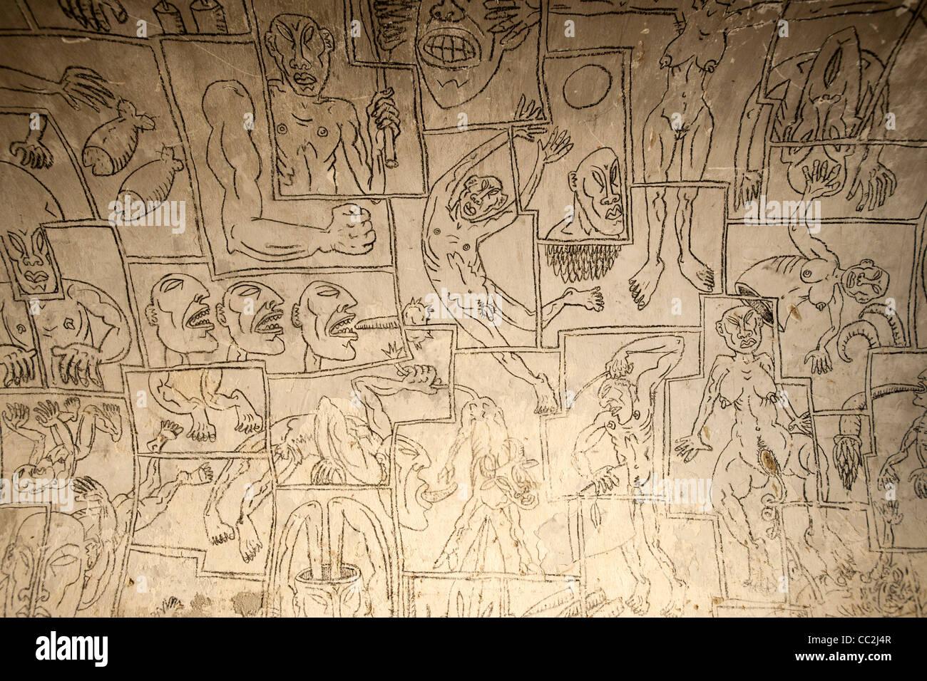 Österreich, Wien 7, 'Narrenturm'am Gelände des Alten AKH, beherbergt heute das Pathologisch-anatomische - Stock Image