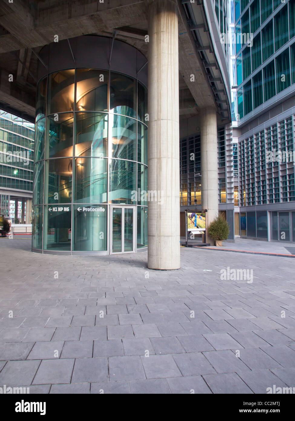 Palazzo Lombardia, Milano - Stock Image