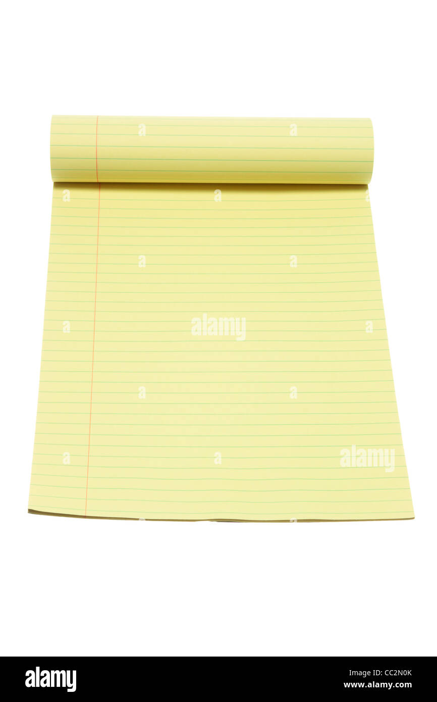 Note Pad - Stock Image