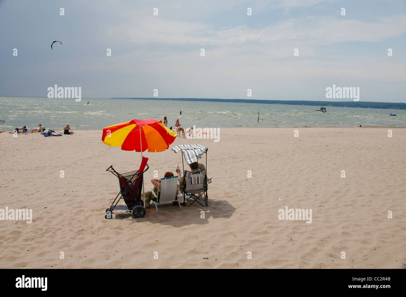 New York state, Sylvan Beach. - Stock Image