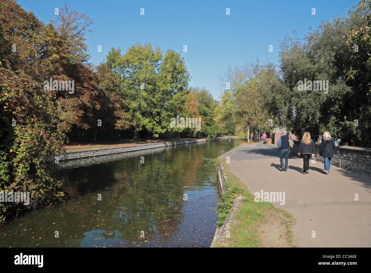 Canal path stock photos canal path stock images alamy Taunton swimming pool station road