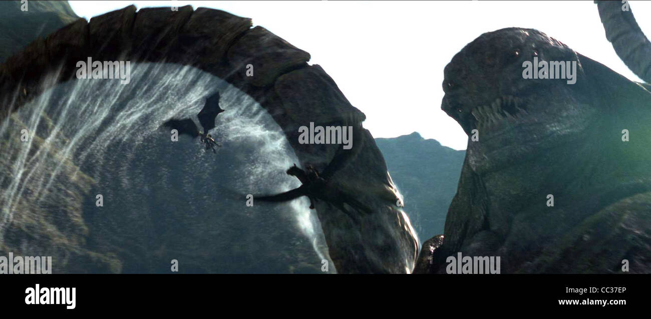 THE KRAKEN CLASH OF THE TITANS (2010) - Stock Image