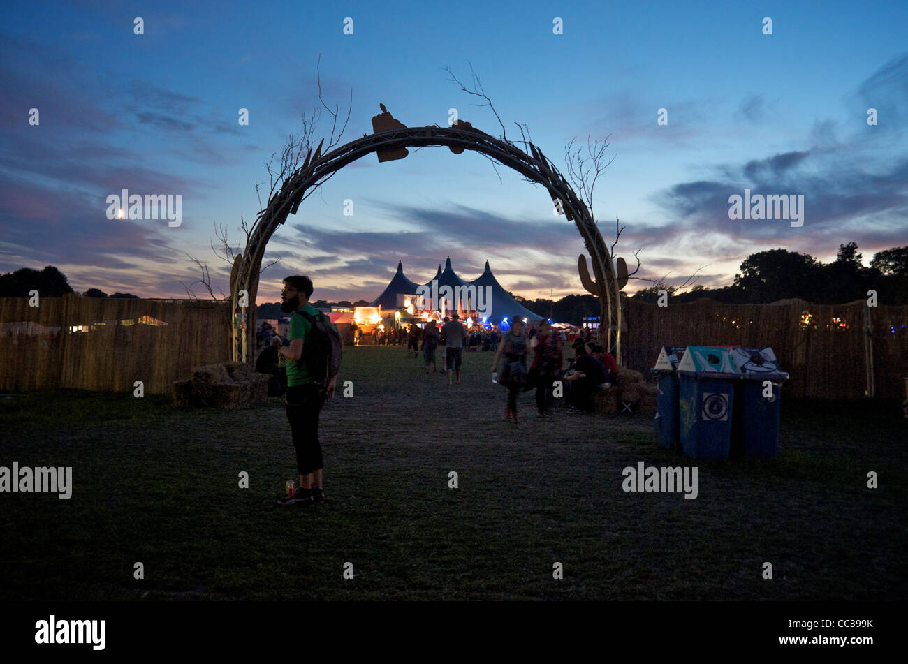 End of the Road Festival 2011 - Stock Image