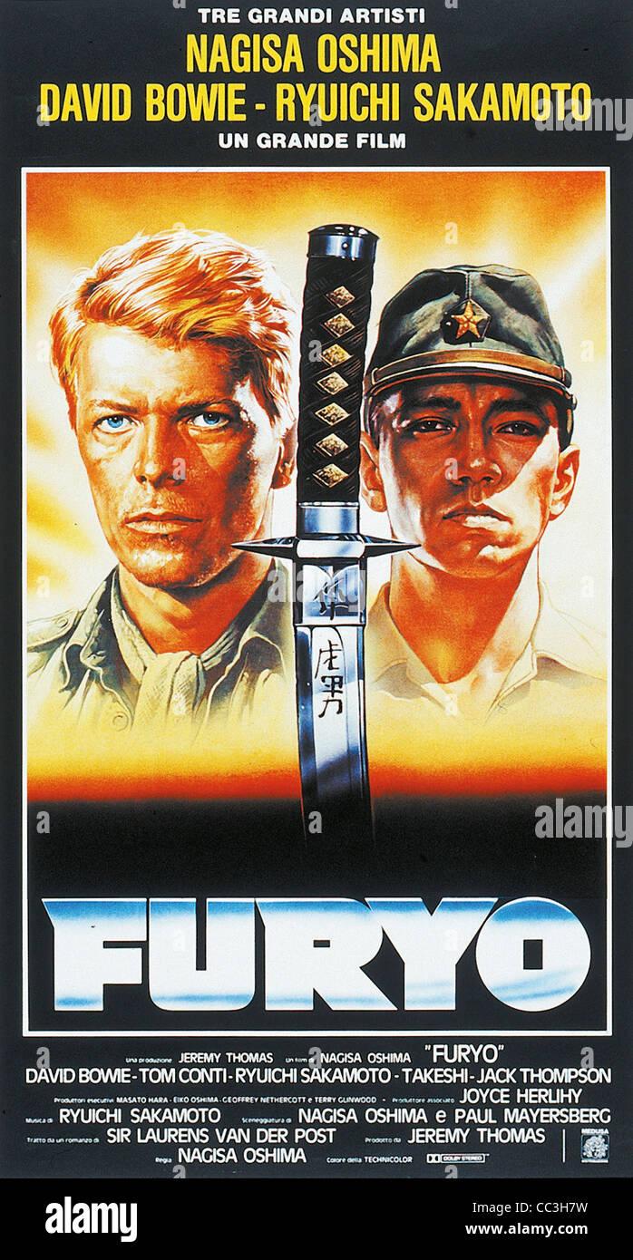 Cinema: 1982 Directed By Nagisa Oshima Furyo Poster - Stock Image