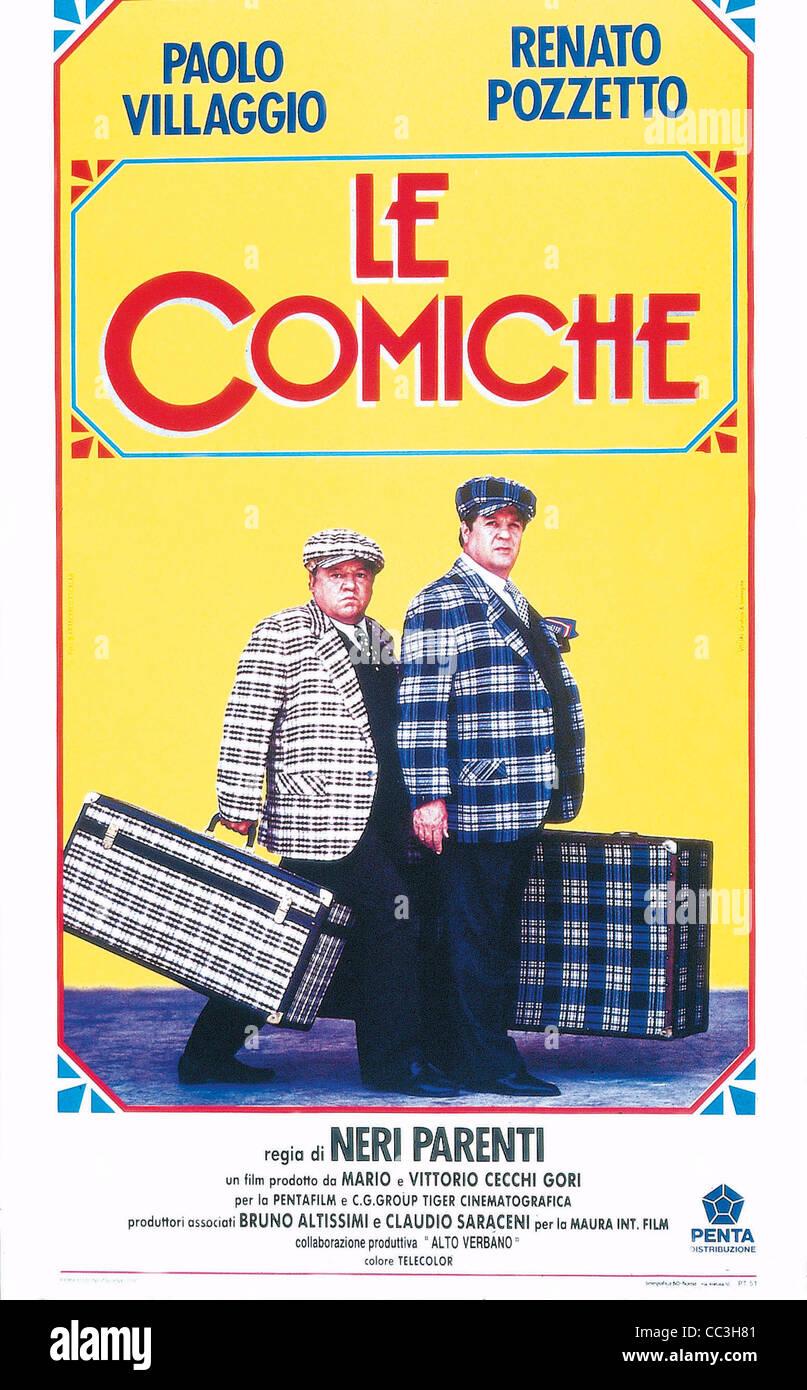 Cinema: The Director's Blacks Relatives Poster 1990 Comic - Stock Image