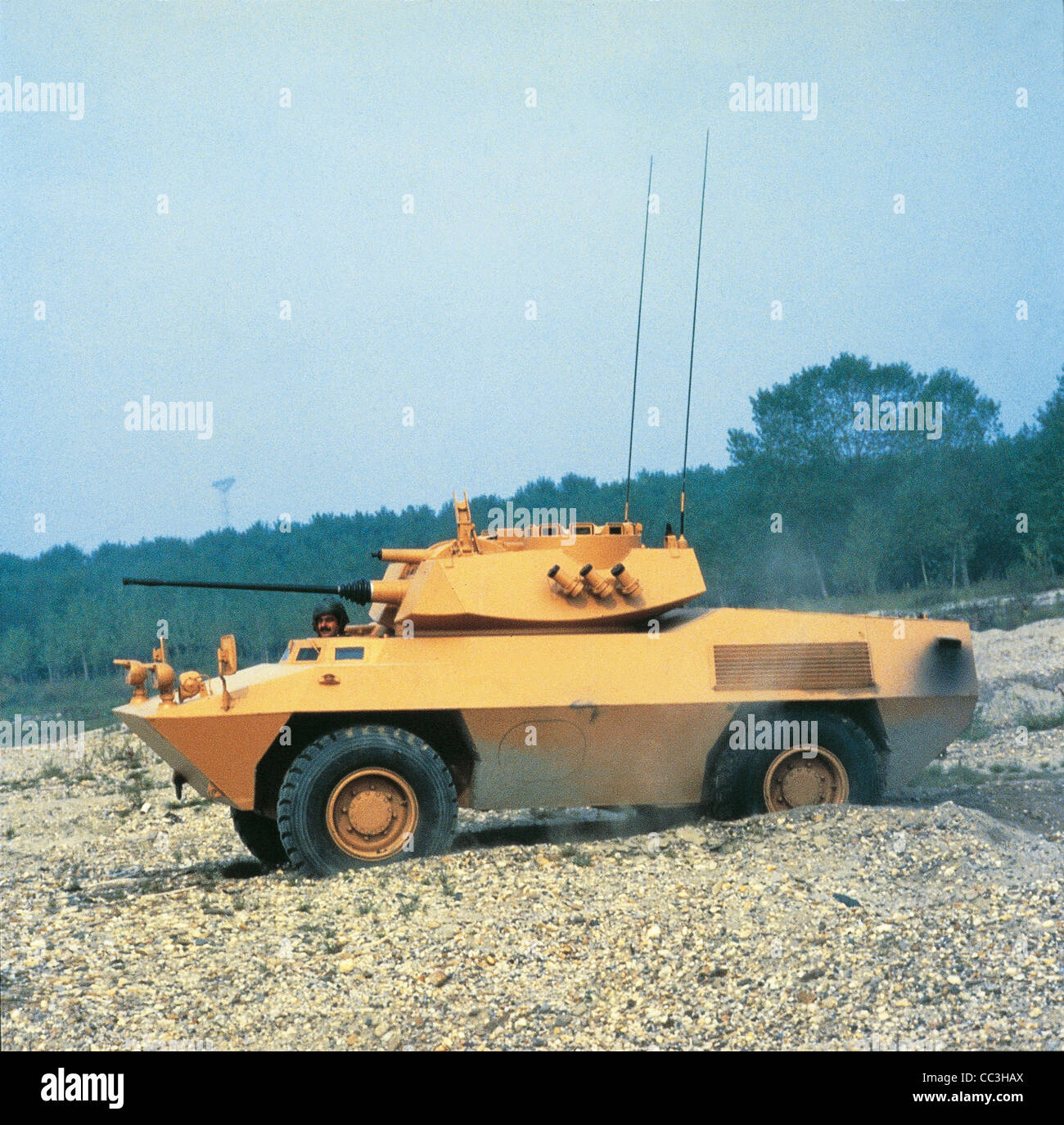 Military Vehicles 20th Century Italy Armored Fiat Iveco 6616 Eighties - Stock Image