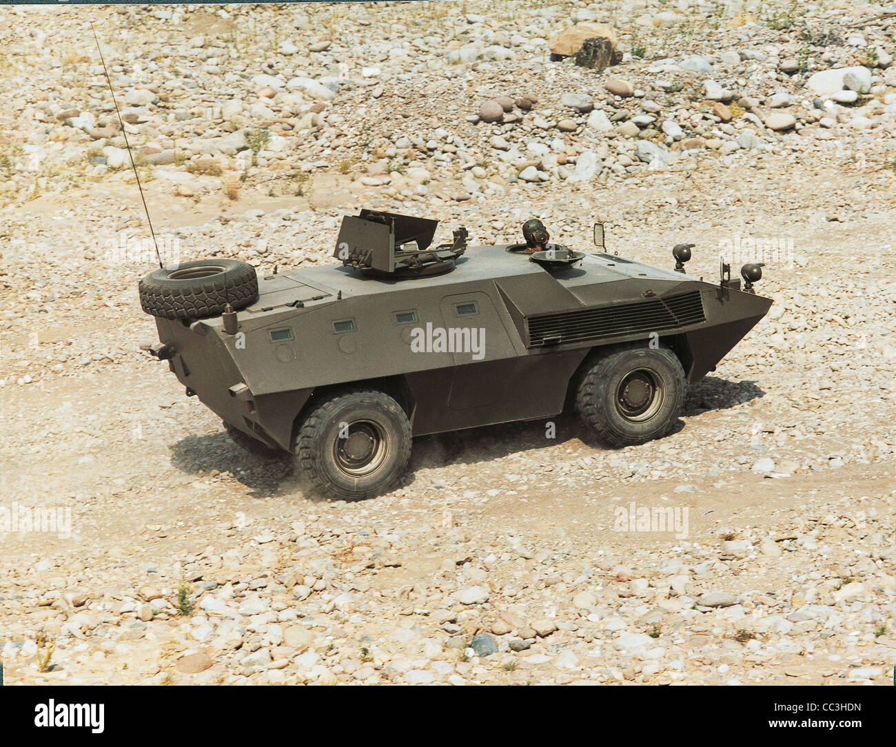 Military Vehicles 20th Century Italy Armored Fiat Iveco 6614 Eighties - Stock Image