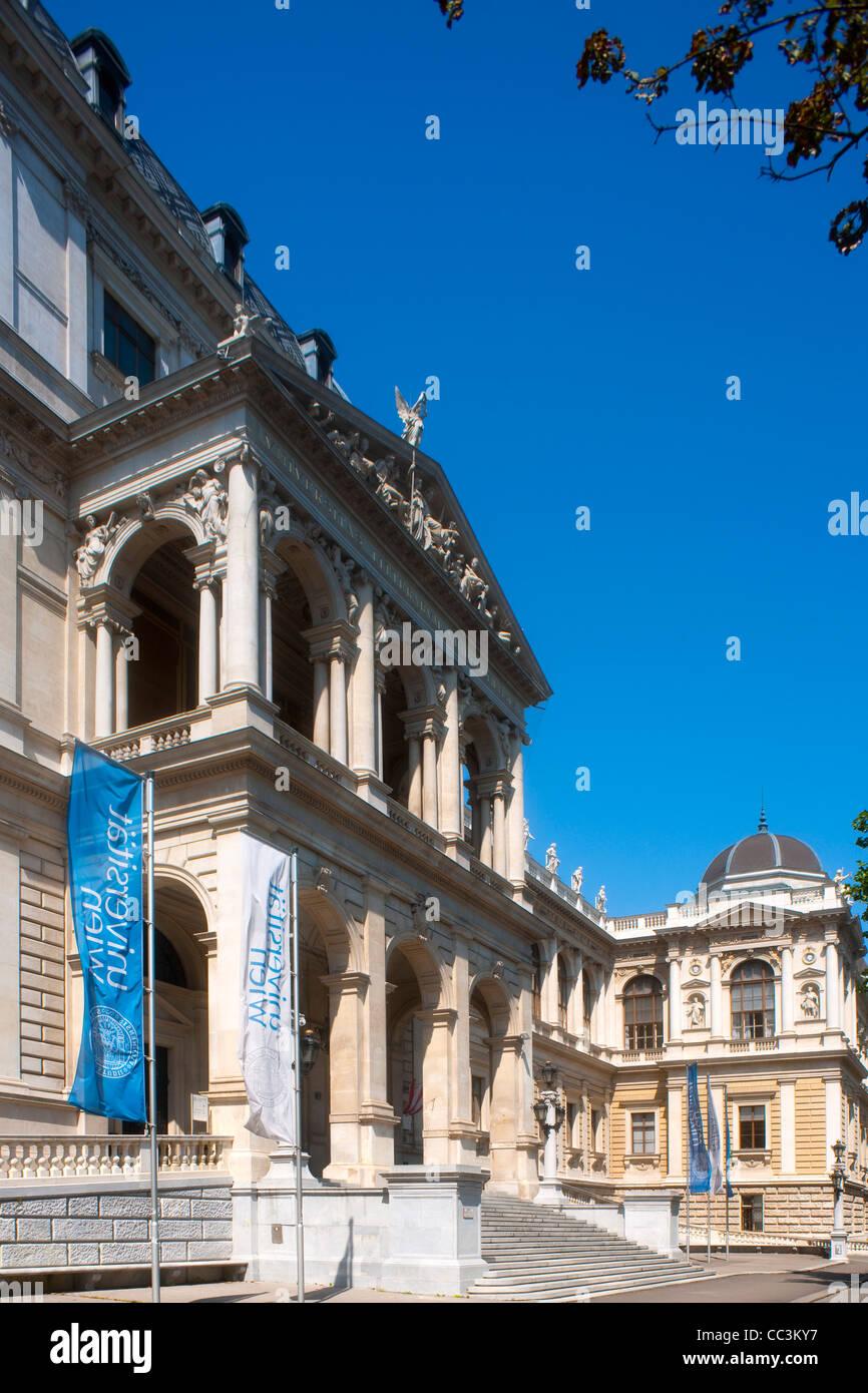 Österreich, Wien 1, Doktor-Karl-Lueger-Ring, Universitätsgebäude - Stock Image