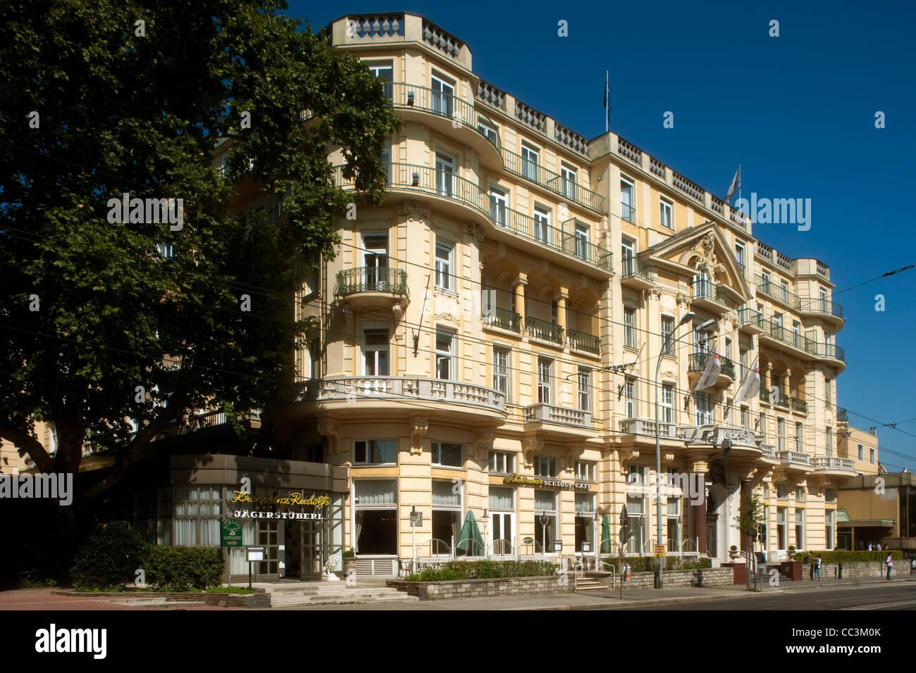 Österreich, Wien 13, Austria Trend Parkhotel Schönbrunn, Hietzinger Hauptstrasse 10-20 - Stock Image