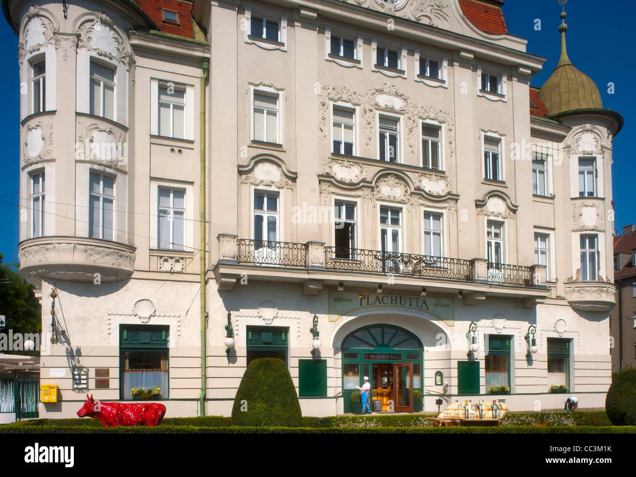 Österreich, Wien 13, Hietzinger Bräu - Plachutta, Auhofstraße 1 - Stock Image
