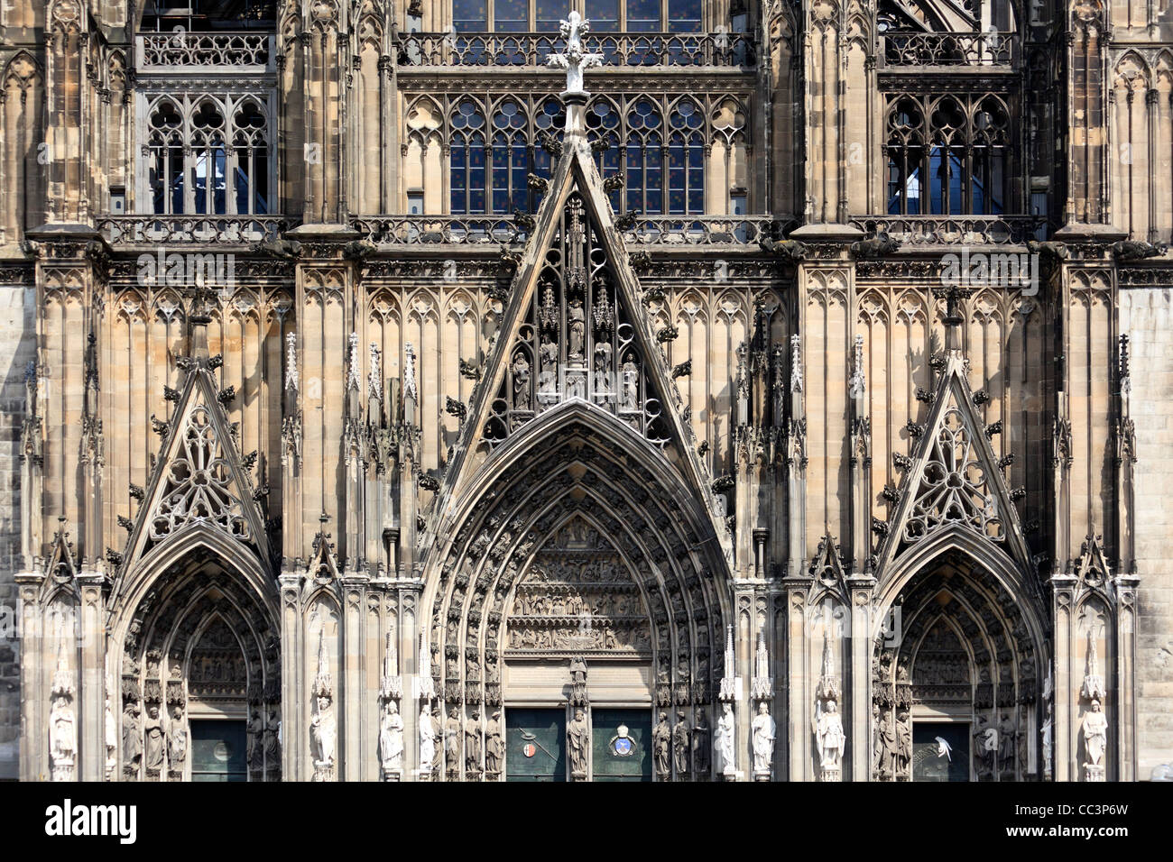 Germany, North Rhine Westphalia, Cologne (Koln), Cathedral - Stock Image