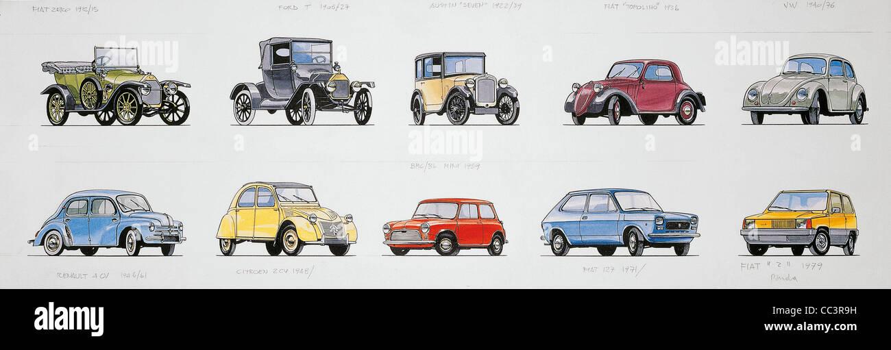 Transport Transportation Cars Car Models Stock Photos & Transport