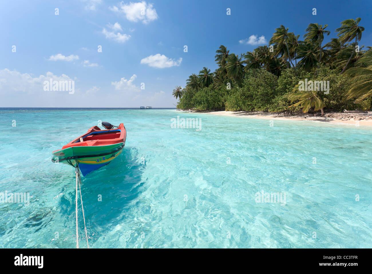 Maldives, Male Atoll, Kuda Bandos Island - Stock Image