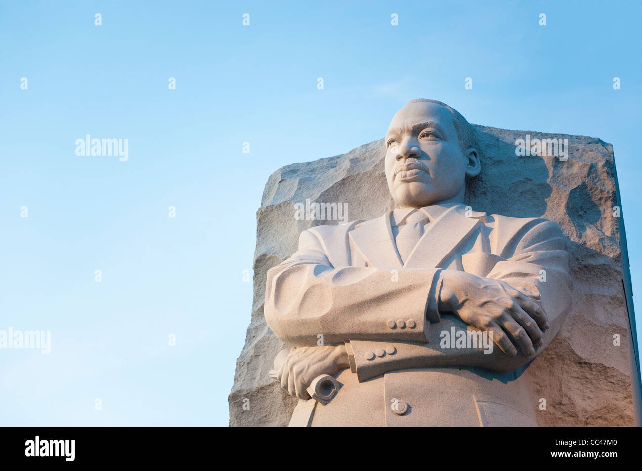 The new Martin Luther King Memorial in Washington DC - Stock Image
