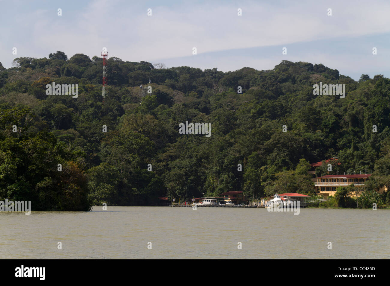 Barro Colorado Island, Gatun Lake, Panama Canal, Republic of Panama, Central America - Stock Image