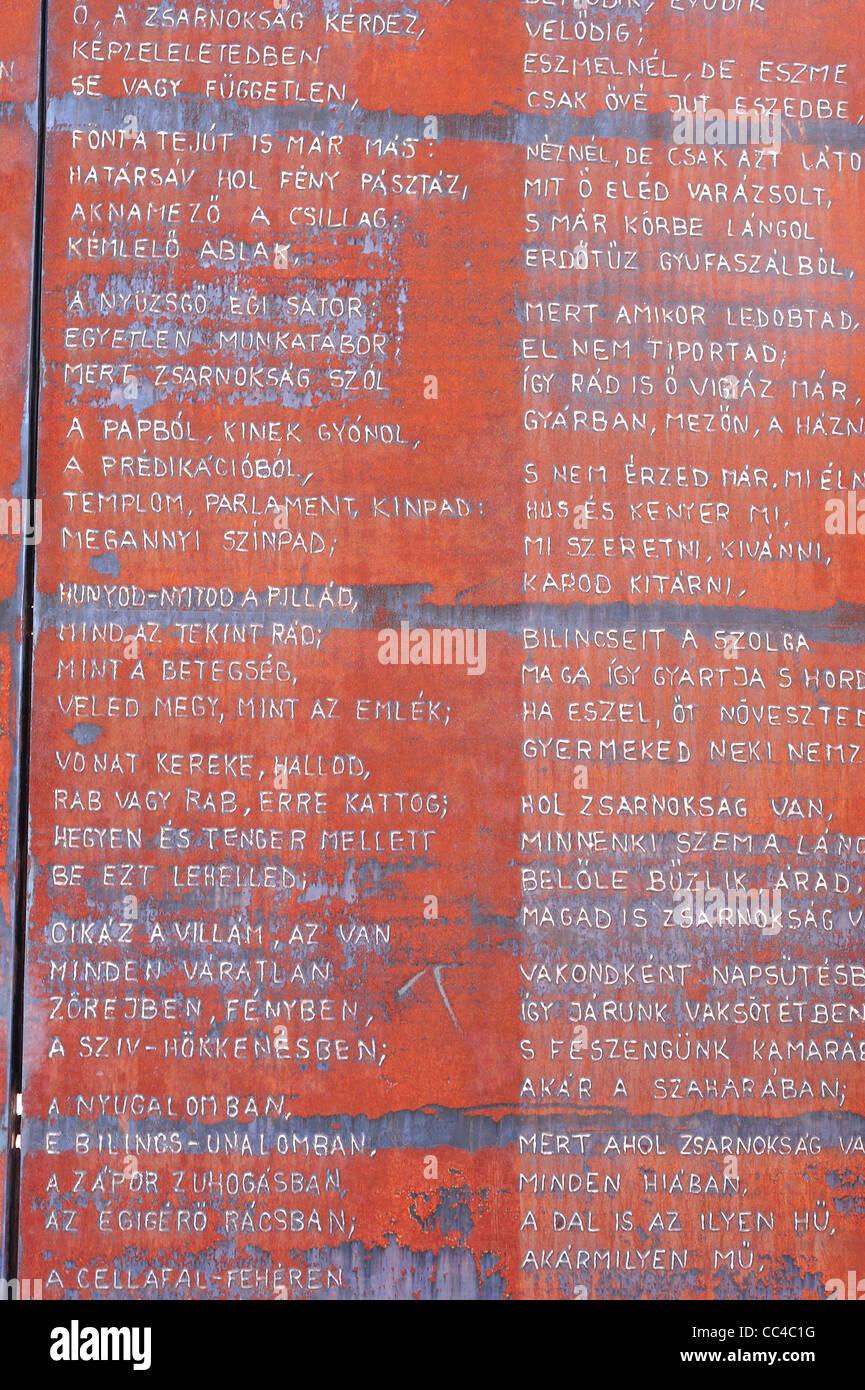 Memento Park, Budapest, Hungary - Stock Image