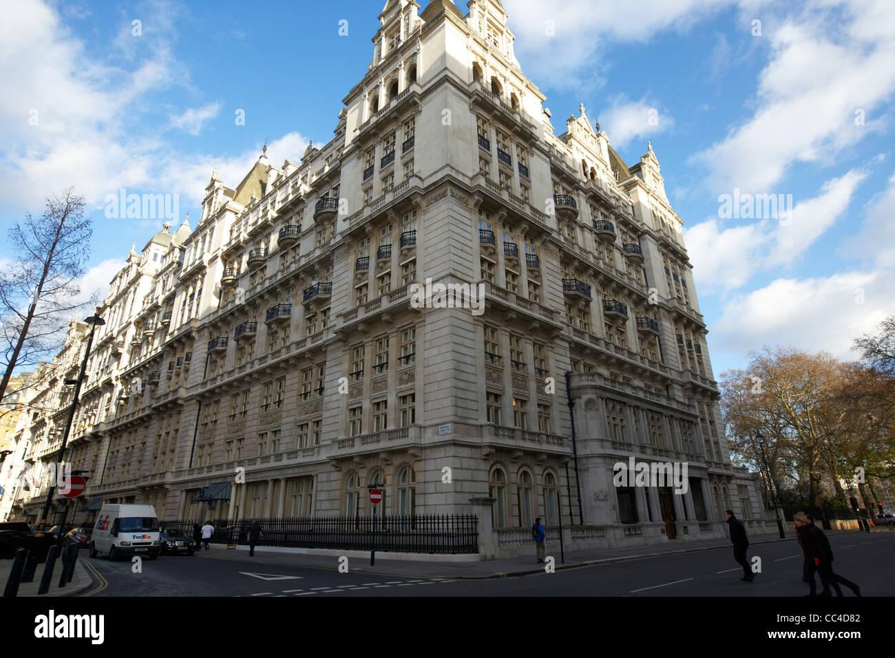 whitehall court building horse guards avenue London England UK United kingdom - Stock Image