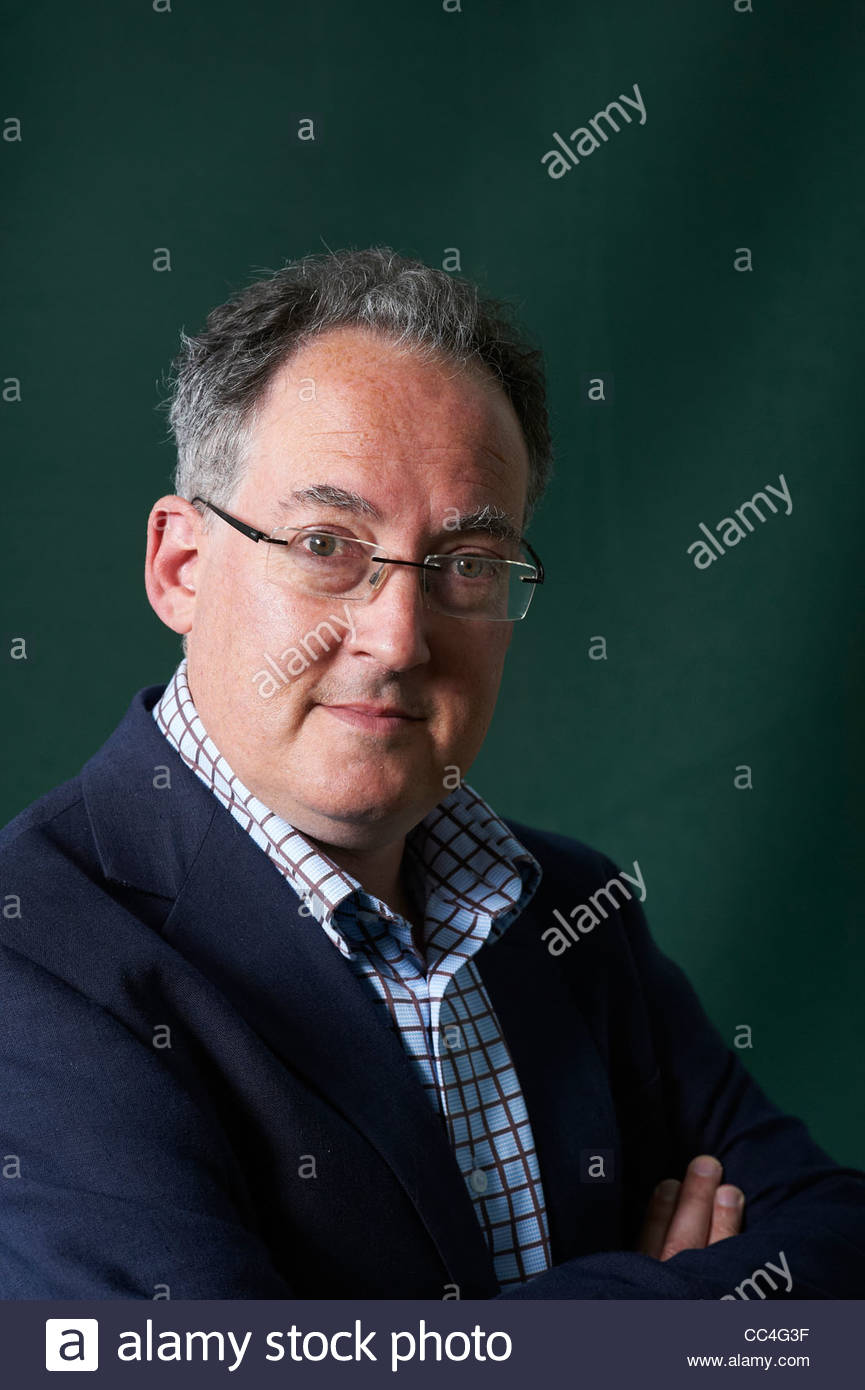 Gideon Rachman at The Edinburgh International Book Festival 2011 Stock Photo