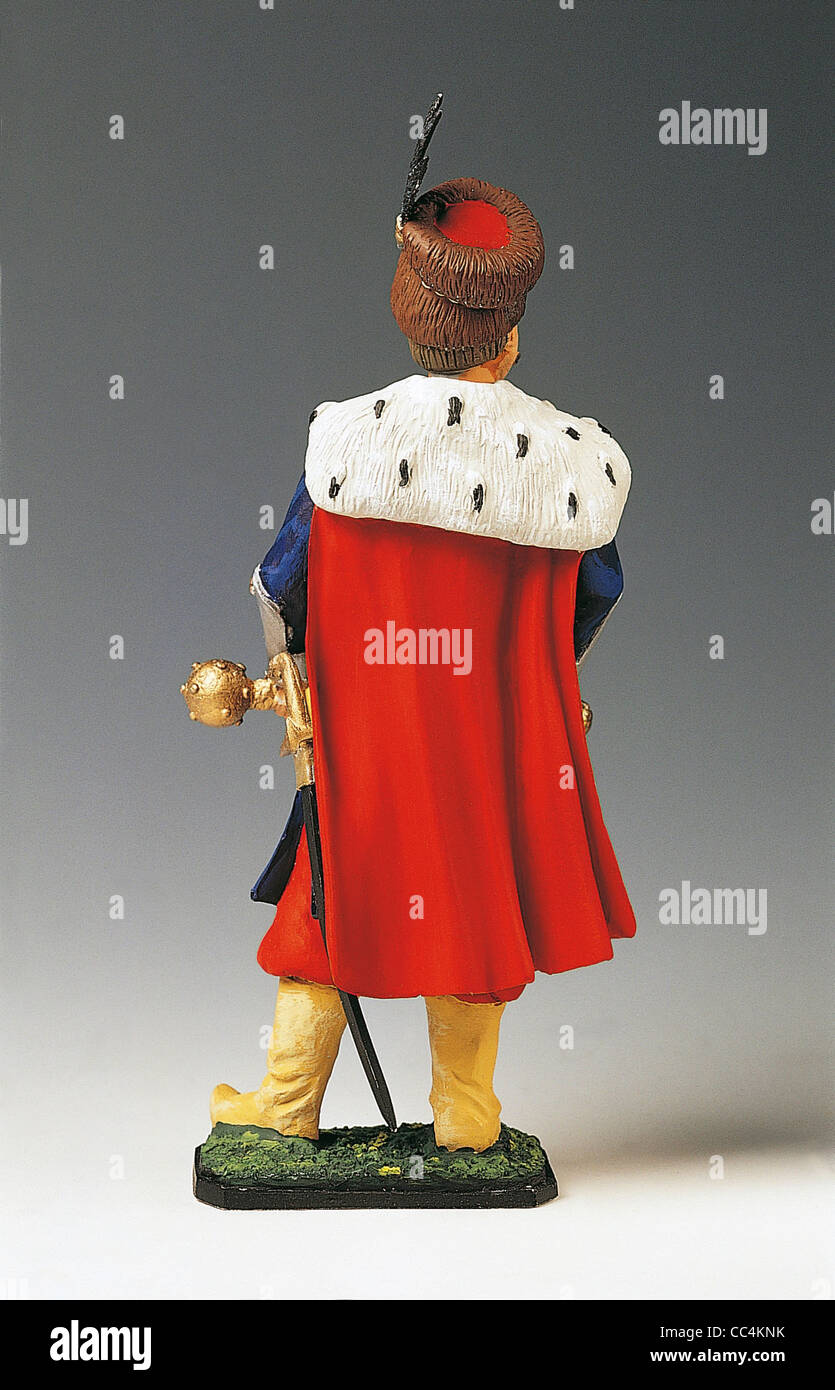 Collectibles. Soldiers In Armor. Jan Sobienski. Polish Armor (Second Half Of The Seventeenth Century). - Stock Image