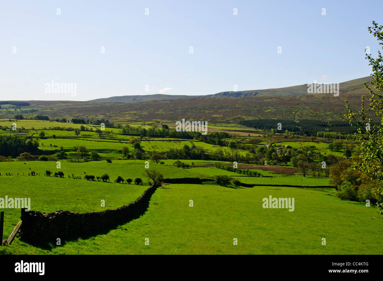 St John's in the Vale is a glacial valley in the Lake District National Park,Cumbria, England. Stock Photo
