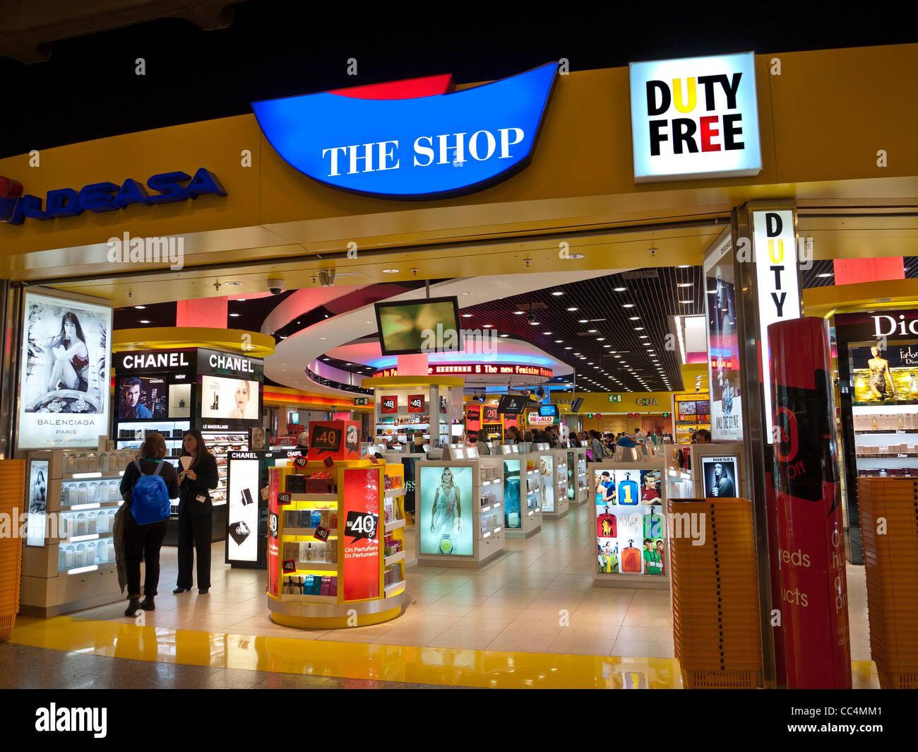 duty free shop palma mallorca airport