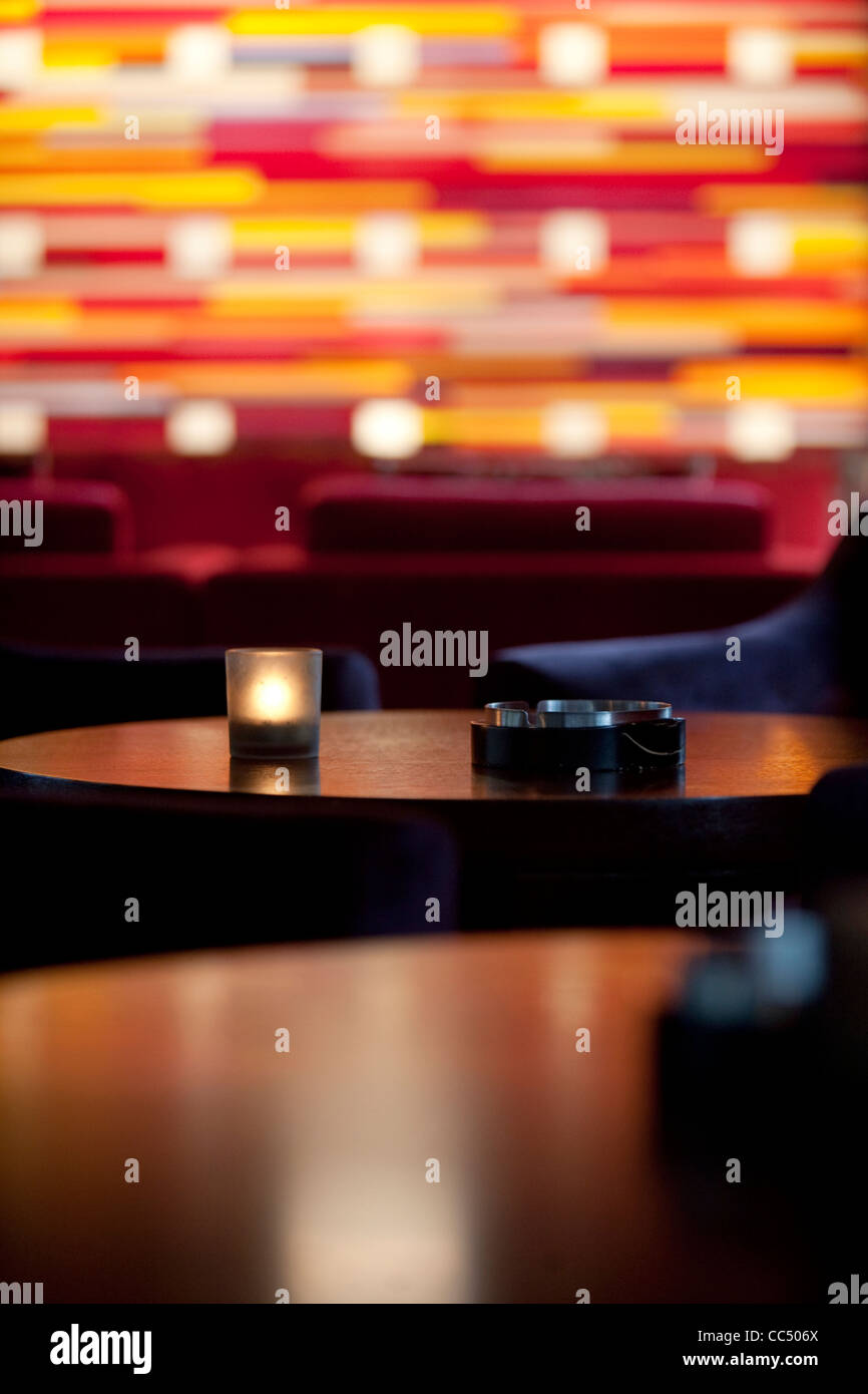 Interior design of Xiu Bar, Yintai Center, Beijing, China - Stock Image