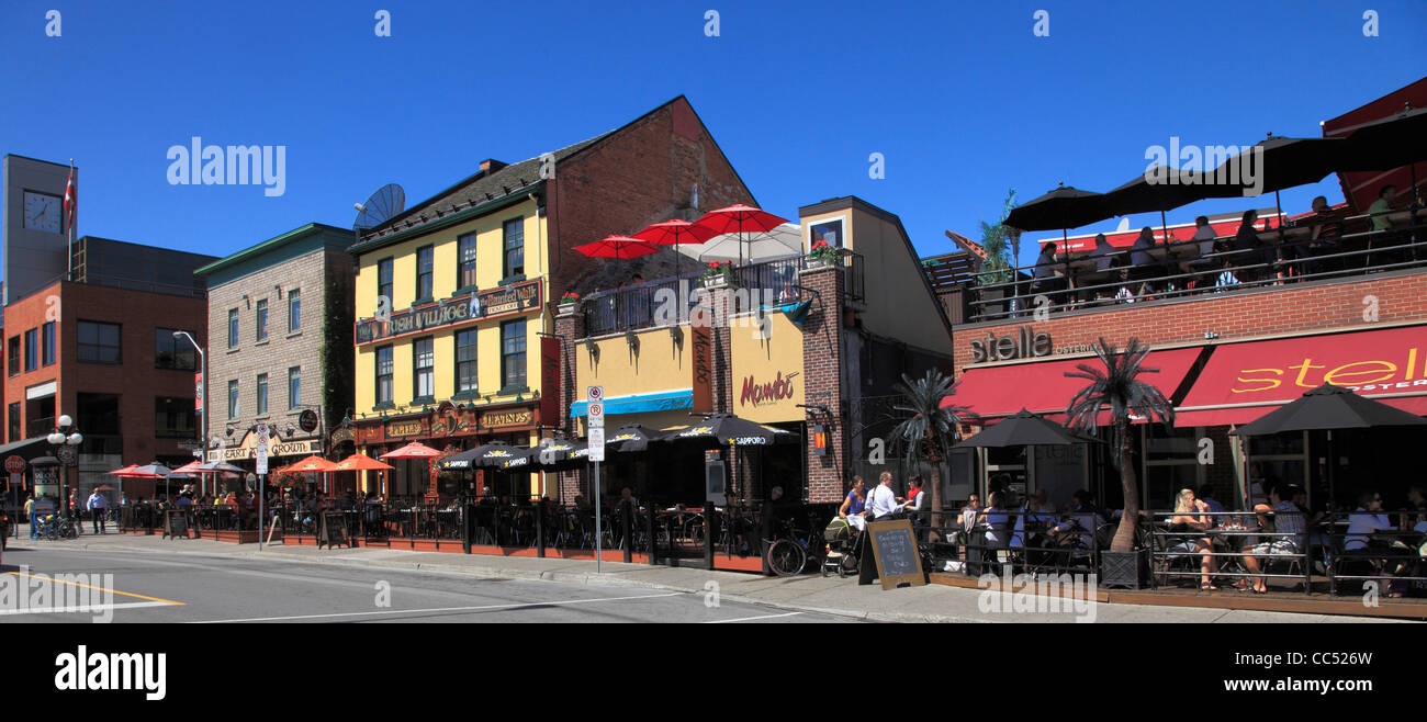 Canada Ontario Ottawa Byward Market Street Scene