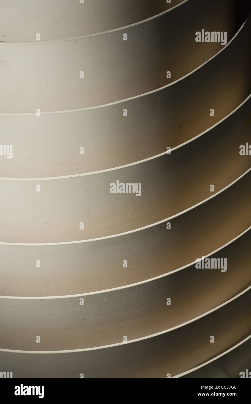 Concentric Curves - Stock Image