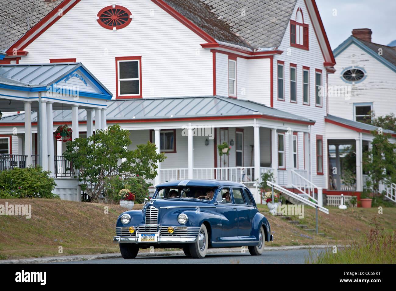 1950 Packard De Luxe 8 Sedan. Haines. Alaska. USA - Stock Image